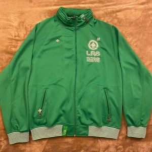 LRG Medium Track Jacket W/Roll Out Hood